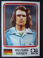 Panini 69 Wolfgang Overath Deutschland WM 74 World Cup Story