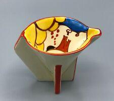 EXRARE CLARICE CLIFF SUMMERHOUSE ART DECO JUG BIZARRE FANTASQUE STUNNING BEAUTY!