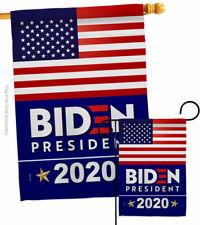 New listing 2020 Biden Garden Flag Patriotic Vote Small Decorative Gift Yard House Banner
