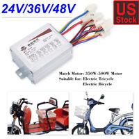 24V/36V/48V Motor Brushed Controller Box For Electric Scooter E-bike Parts US