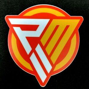 "(1) Patrick Mahomes PMII Signature Logo Die Cut 3"" Sticker Kansas City Chiefs"