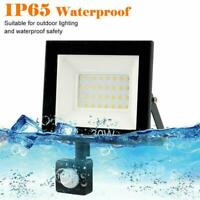 LED Floodlight PIR Sensor Motion Outdoor Security Waterproof Flood Light S1B3
