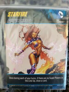 STARFIRE PROMO CARD DC DECK BUILDING GAME - NEW - DGB CRYPTOZOIC FREE SHIPPING!