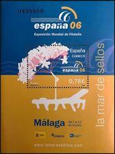 2006 Sello - Mini Hoja Exposición Mundial de Filatelia Málaga - Correos España