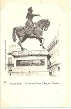 French Photo Image PC-  Joan of Arc- Jeanne d Arc- Orleans- Horse- 1898-1906