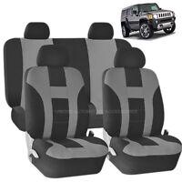 UAA Digital Camo VAN Rubber Mats /& Dual-Stitch Racing Polyester Seat Covers Set