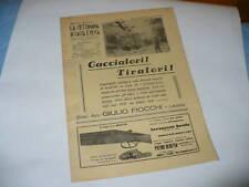 RIVISTA LA SETTIMANA DI CACCIA E PESCA N. 9 1938
