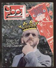 CIAO 2001 39/1977 PROG ROCK MAGAZINE RINGO STARR STONES GRATEFUL DEAD MINGARDI
