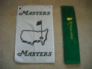 Masters Golf Towels (2) used condition