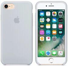 "MIST BLUE GENUINE ORIGINAL Apple Silicon Case for iPhone 8 / iPhone 7  - 4.7"""