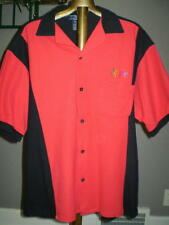 Apple Logoed Short Sleeve Bowling Shirt - Extremely Rare - Medium