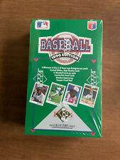 1990 Upper Deck Baseball Card Box 36 Packs FASC Ken Griffey Jr Sosa RCPSA?