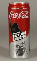 PRL) COCA-COLA LATTINA FUTURE LEGEND SEOUL ANNALISA 330 ML TIN COKE COLLECTION