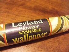 Sealed roll Leyland Paragon washable wallpaper vintage 52.1cmx 10m Print CS69460