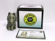 "Harmony Kingdom Ball Pot Bellys Wolf ~""Toothy"""