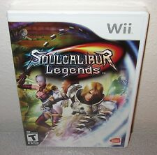 SOUL CALIBUR Legends SEALED NEW NINTENDO Wii Exclusive SoulCalibur Action Game