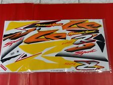 HONDA LS125 YEAR 2001 BODY STICKER SET FOR RED  MOTORCYCLE (bi)