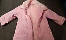Next rose fausse fourrure manteau 12-18 mois Moelleux/Chaud/Veste/bébé/fille/bébé/nouveau
