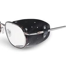 Seitenschutz für Brillen aus Leder 1Paar Schwarz Brille Sonnenbrille Neu
