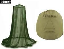 Esercito MOZZI Viaggio Campeggio Esercito Militare Da Appendere Tenda Zanzariera Midge Mesh Nuove