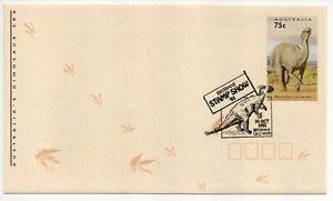 1993 Australia's Dinosaur Era • Brisbane Stamp Show '93 'Pmk' ~ Cover