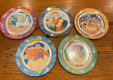 5 Vtg 1997 Disney HERCULES Plates McDonald's Collectibles Pre-owned never used!