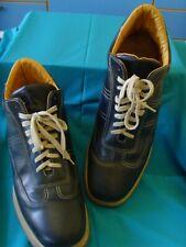 Scarpe SANTONI N.42,5 (8,5) ORIGINALI Uomo Shoes BLU MADE IN ITALY  Handmade