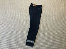"Edwin ED-45 Red Listed Selvage Denim Jeans Raw Indigo 30"" Regular RRP £140"