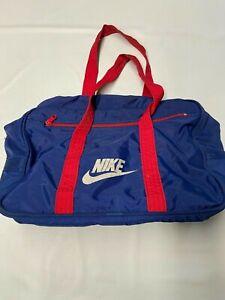 NIKE Blue Vintage Duffel Bag Sz 11X15X6