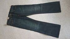 Herren Levi's 527 Dunkelblau Slim Bootcut Jeans W38 L34