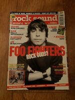 ROCK SOUND MAGAZINE ( 42 ) NOV 2002 FOO FIGHTERS FEEDER TAPROOT CATHEDRAL