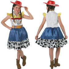 AGE 7-8 DISNEY Toy Story Jessie Costume Includes Cowgirl Alice Band **NEW** TU