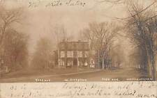 WEST PITTSTON, PA, YORK & SUSQUEHANNA AVENUES, HARRIS REAL PHOTO PC, used 1906