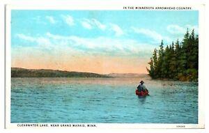 Clearwater Lake near Grand Marais, MN Postcard *5D