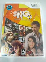 Let ´ S sing 6 Version Spagnola Alboran Fangoria Gioco Per Wii Nintendo Pal