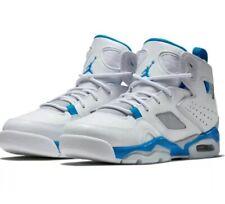 Jordan Flight Club '91 Men's bascketball shoes White/ Blue-Wolf Grey 555475 104