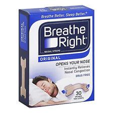 Breathe Right Nasal Strips 30 Tan For Normal Skin - Regular