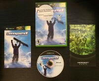 Amped Freestyle Snowboarding Microsoft Xbox 2001 *Ships Same Day*