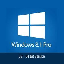 Windows 8.1 Professional PRO 32/64 Bit Key Lizenz NEU Vollversion Email Download