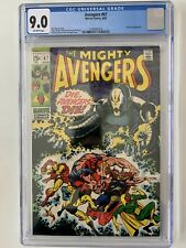 THE MIGHTY AVENGERS #67 Marvel Comics 1969 CGC 9.0 ULTRON-6 Roy Thomas Story