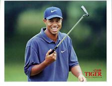 1997 Genuine Topps Golf Tiger Woods Fan Club Photo Card