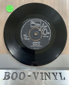 "Jackson Five - Skywriter 7"" Single Tamla Motown Records TMG865  EX CON"