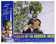 INVASION OF THE SAUCER MEN LOBBY SCENE CARD # 5 POSTER 1957