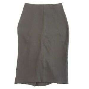 Body By Victoria Secret Pencil Skirt Size 4 Black Kick Plate