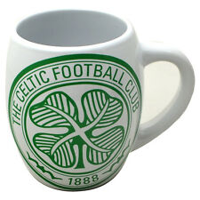 OFFICIAL CELTIC FC TEA TUB MUG CERAMIC COFFEE CUP IN CLEAR GIFT BOX NEW XMAS