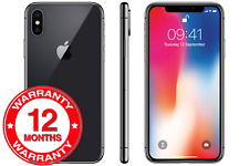 Apple iPhone X - 64GB - Space Grey (Unlocked) A1901 Mobile Phone