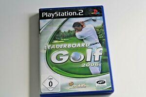 Leaderboard Golf (Sony PlayStation 2, 2006, DVD-Box)