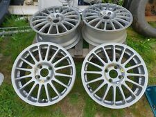 "FORD 15"" INCH OZ RACING LIGHT WEIGHT ALLOYS SET OF 4"