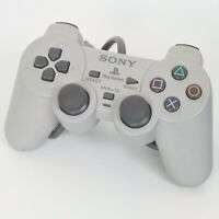 PS1 Analog Controller SCPH-1200 Gray Playstation Official Made in Korea C
