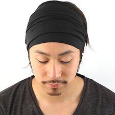 Casualbox Mens Womens Elastic Bandana Headband Japanese Long Hair Dreads Head
